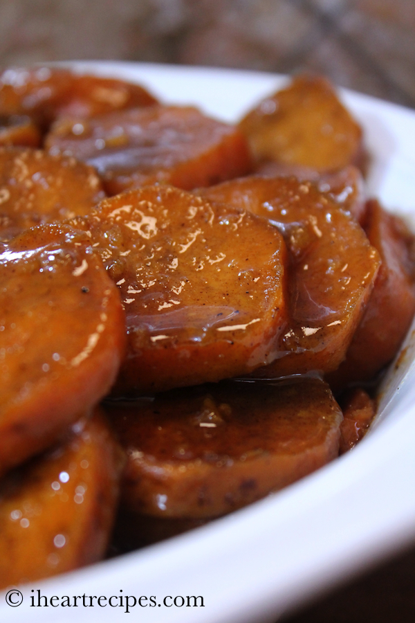 Slow Cooker Southern Candied Yams I Heart Recipes