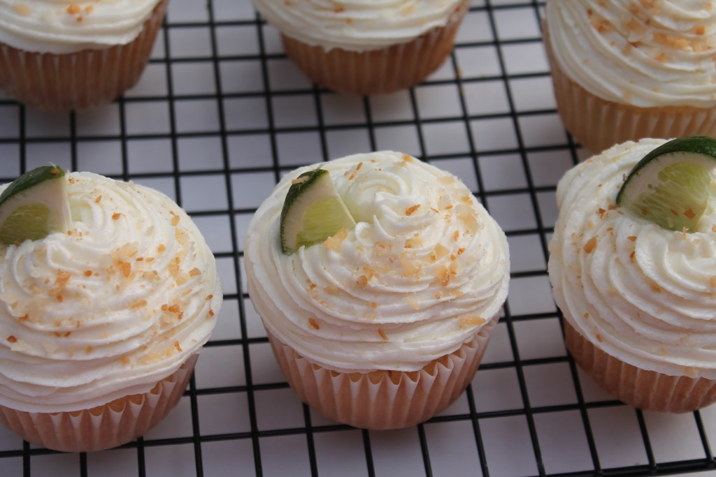 These Coconut Lime Cupcakes are light, fluffy, and full of flavor!