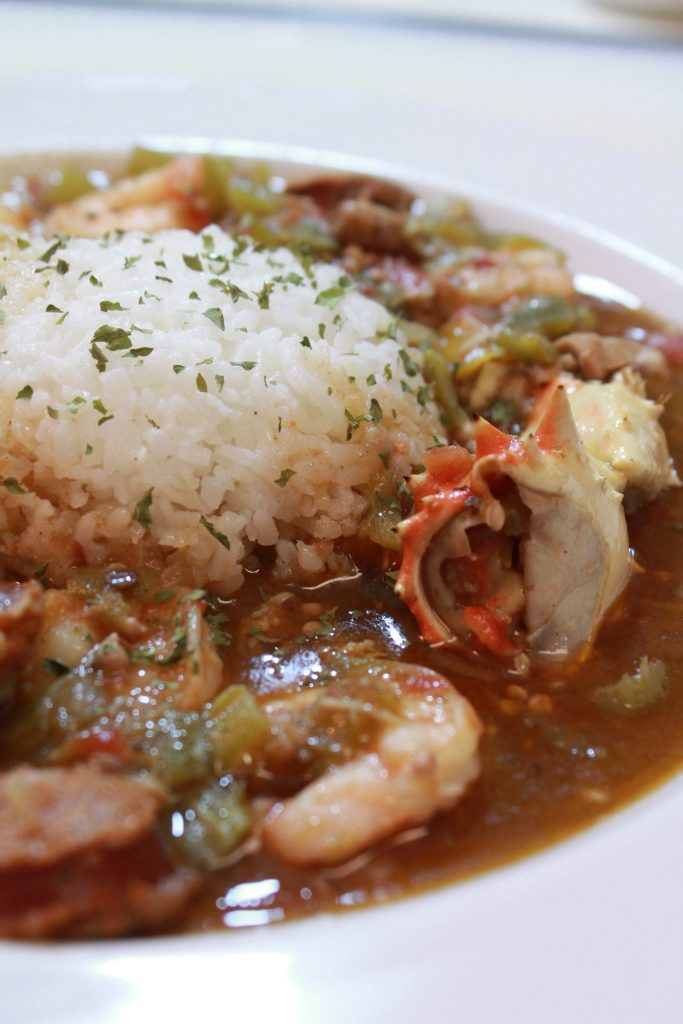 Seafood Chicken Amp Andouille Sausage Gumbo I Heart Recipes