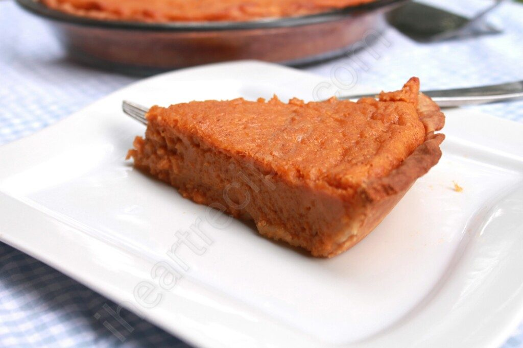 Sweet Potato Pie | I Heart Recipes