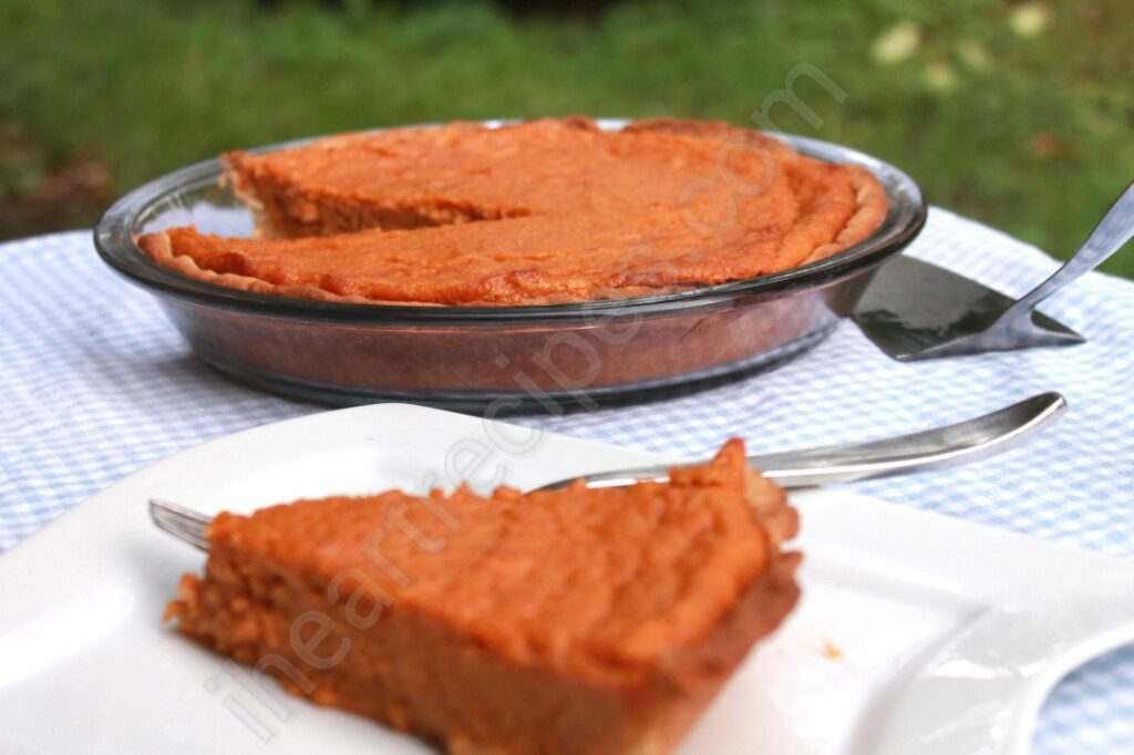 Soul Food Sweet Potato Pie | I Heart Recipes