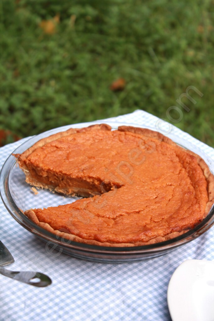 This sweet potato pie is velvety and creamy. This is sure to impress your guests!