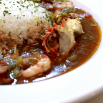 Seafood, Chicken, and Andouille Sausage Gumbo