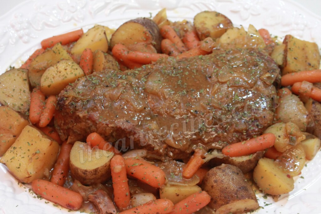 Simple Pot Roast With Vegetables I Heart Recipes
