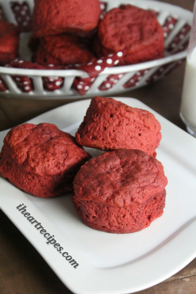 Light and flaky, these Red Velvet Biscuits are perfect warmed up with some butter