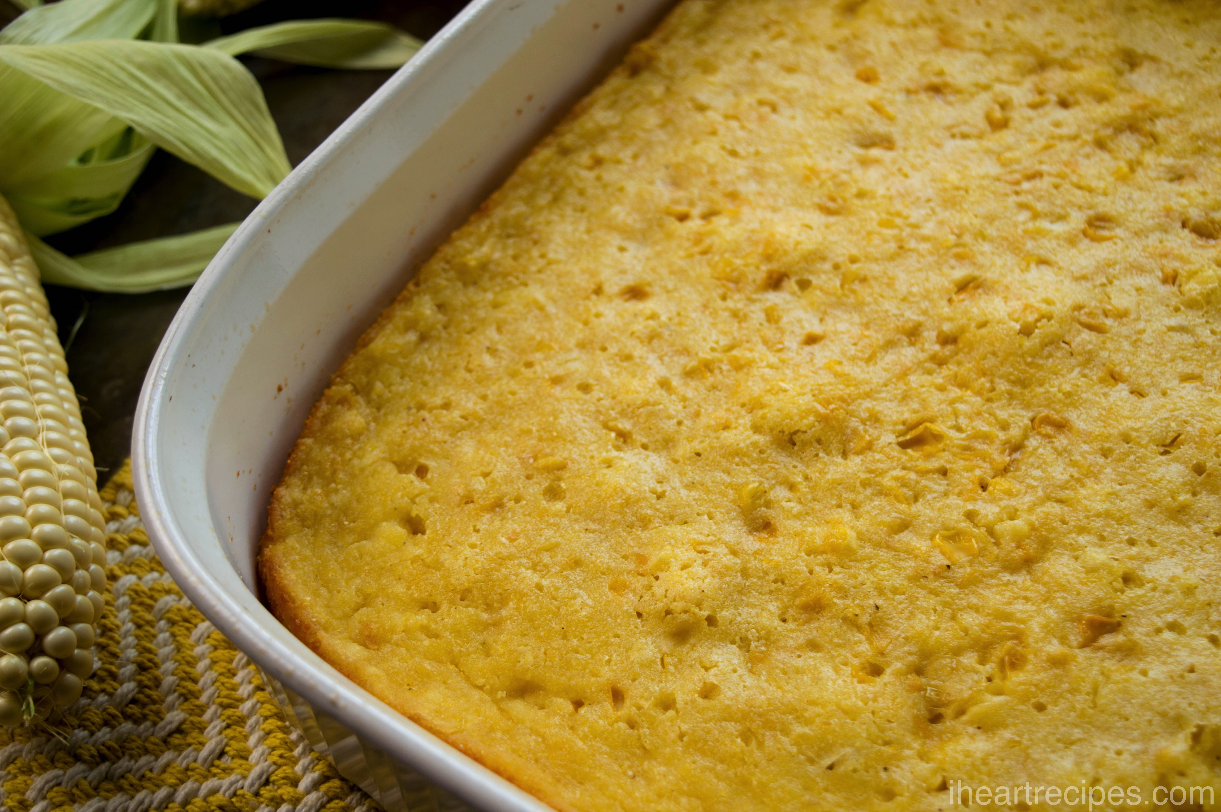 Made with cornbread, this side dish can be sweet and savory at the same time.