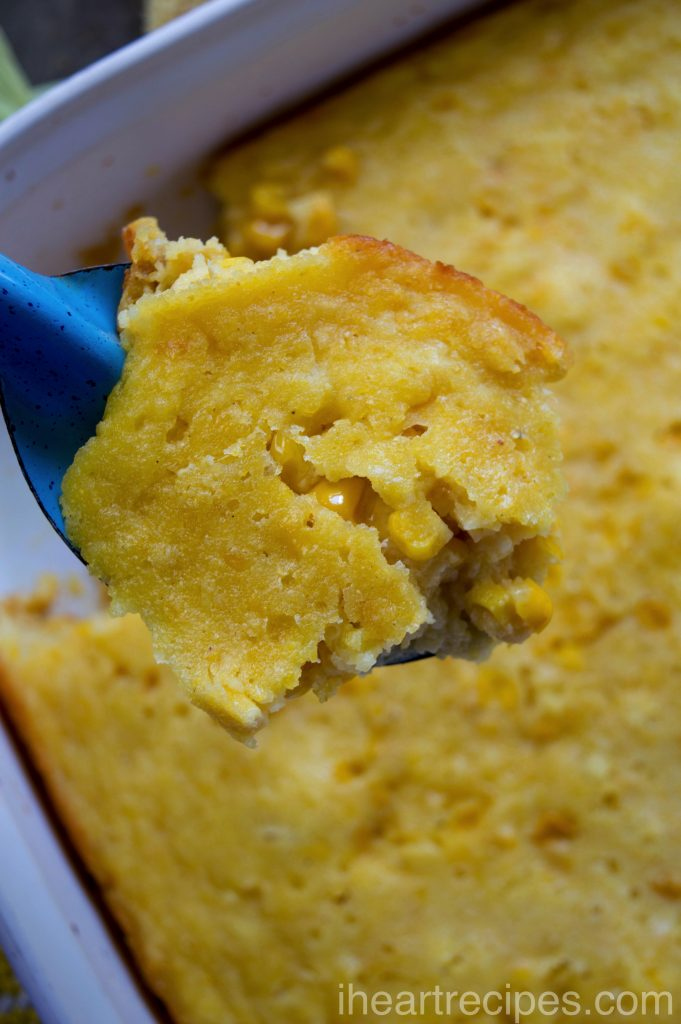 Corn Pudding Casserole| I Heart Recipes