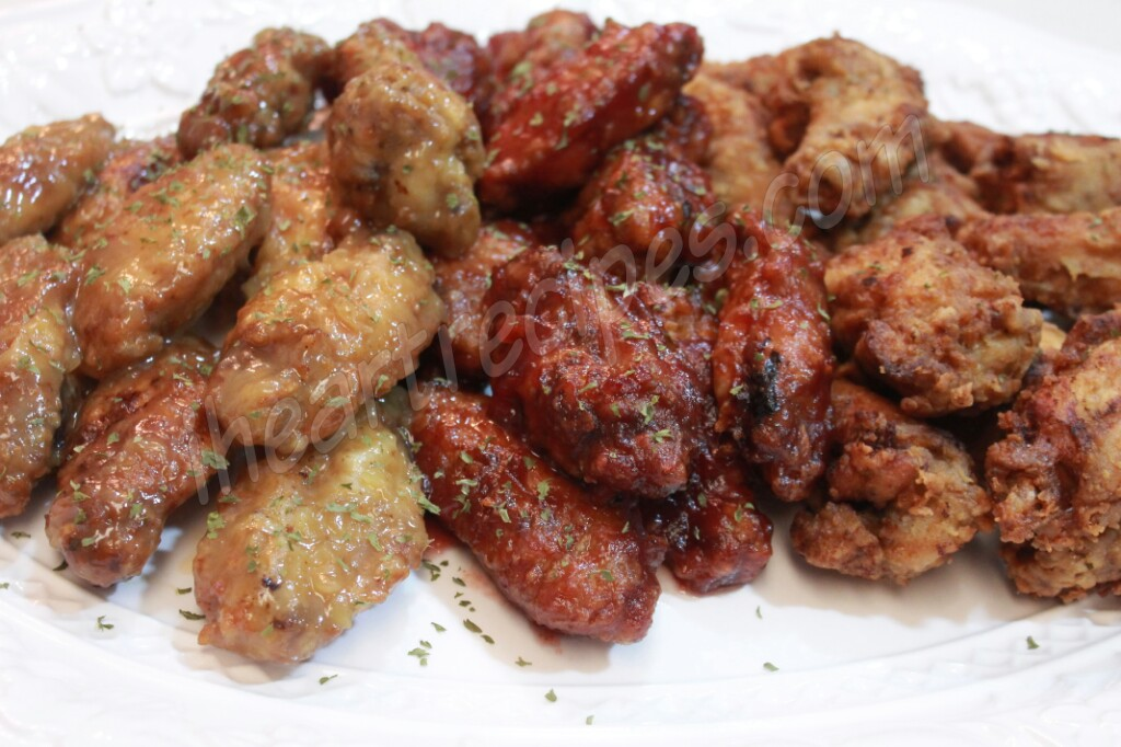 Christmas Chicken Wings 2