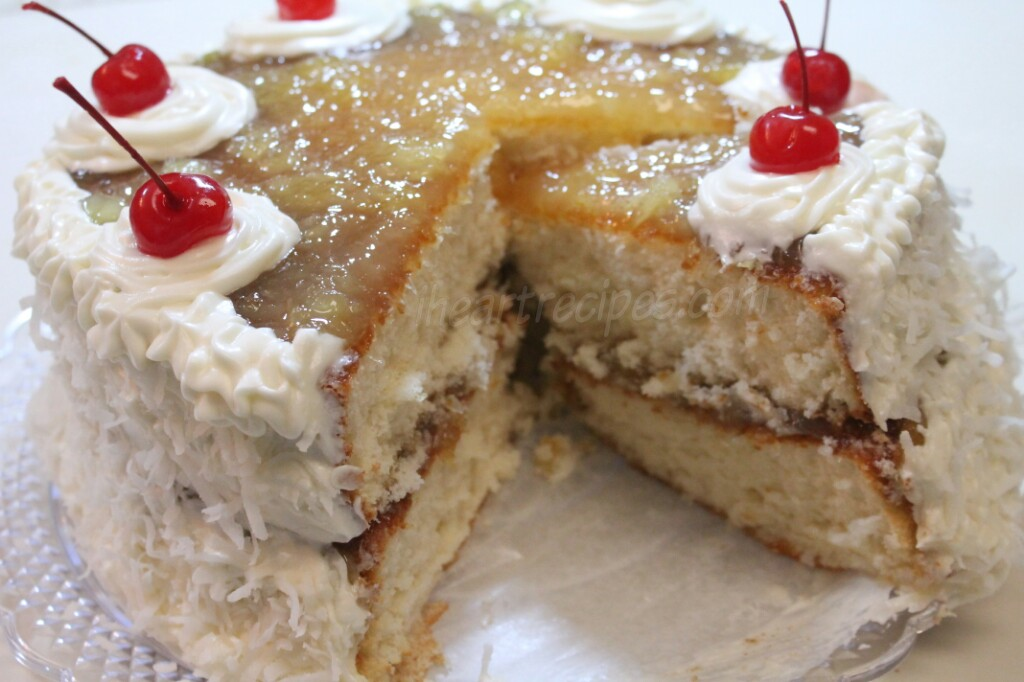 Old Fashioned Moist Coconut Cake Recipe