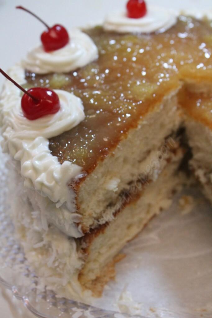 Coconut Pineapple Cake I Heart Recipes