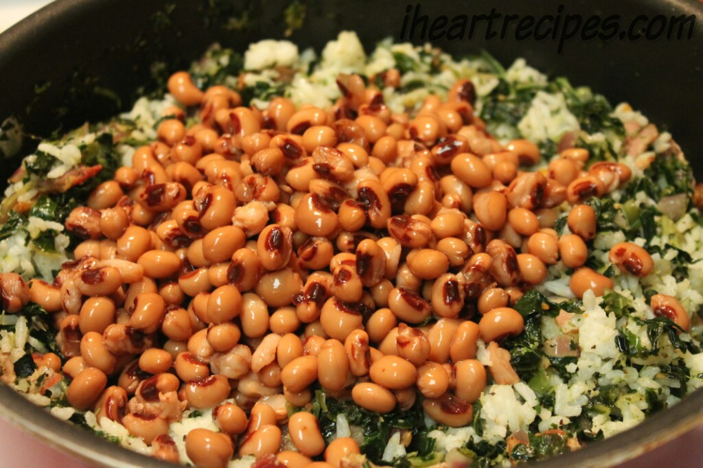 Black Eyed Peas in Hoppin' John