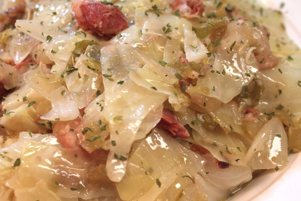 Try this Southern Cabbage from I Heart Recipe