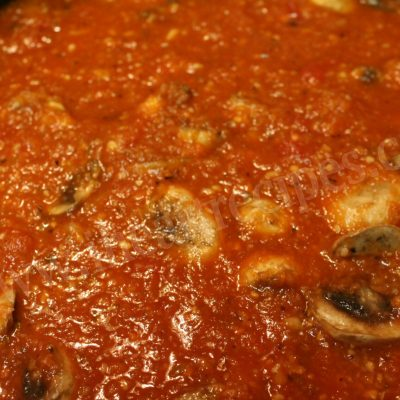 Homemade Vegetable Marinara Sauce
