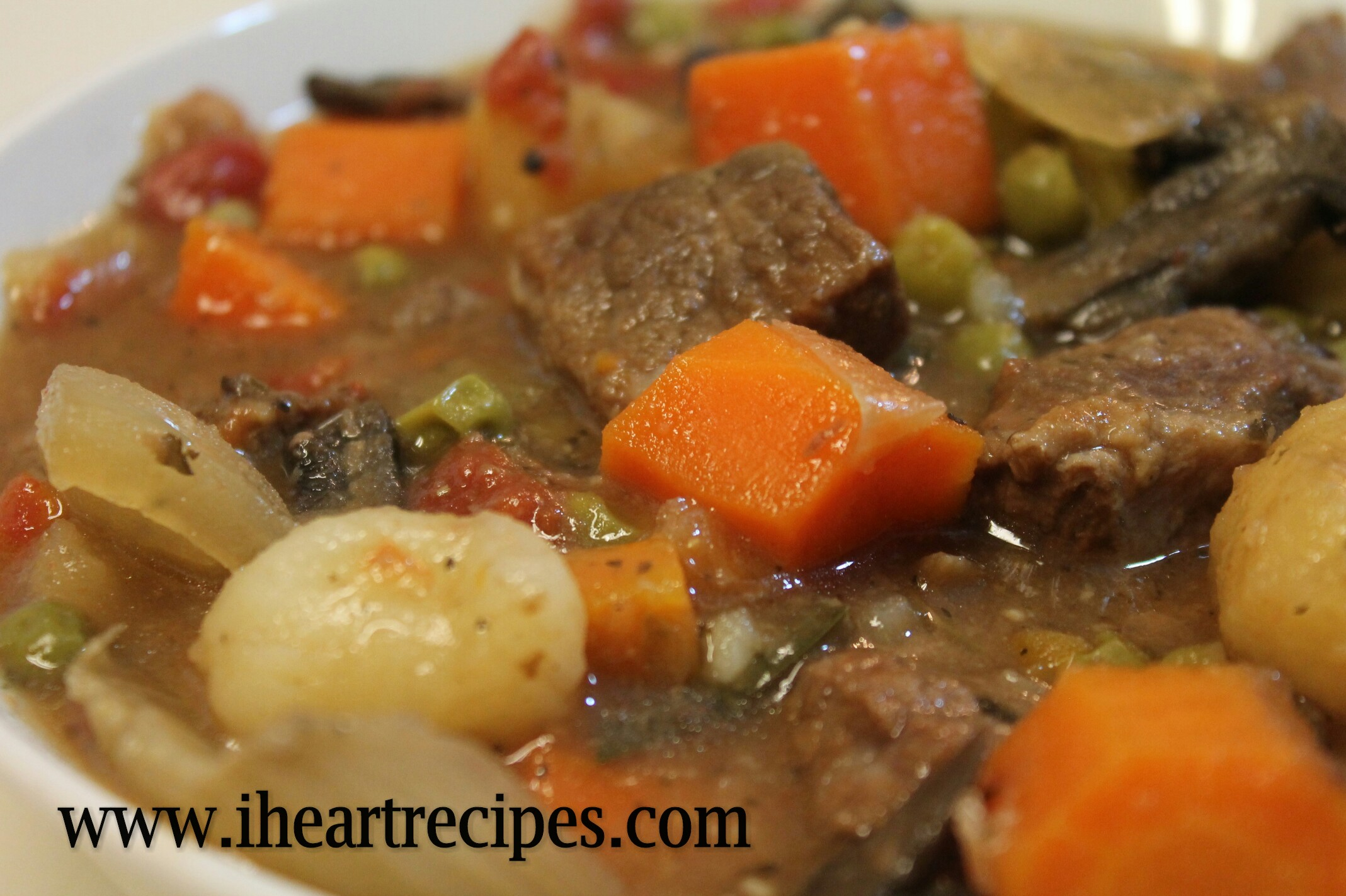 Beef Stew Made In The Crock Pot I Heart Recipes