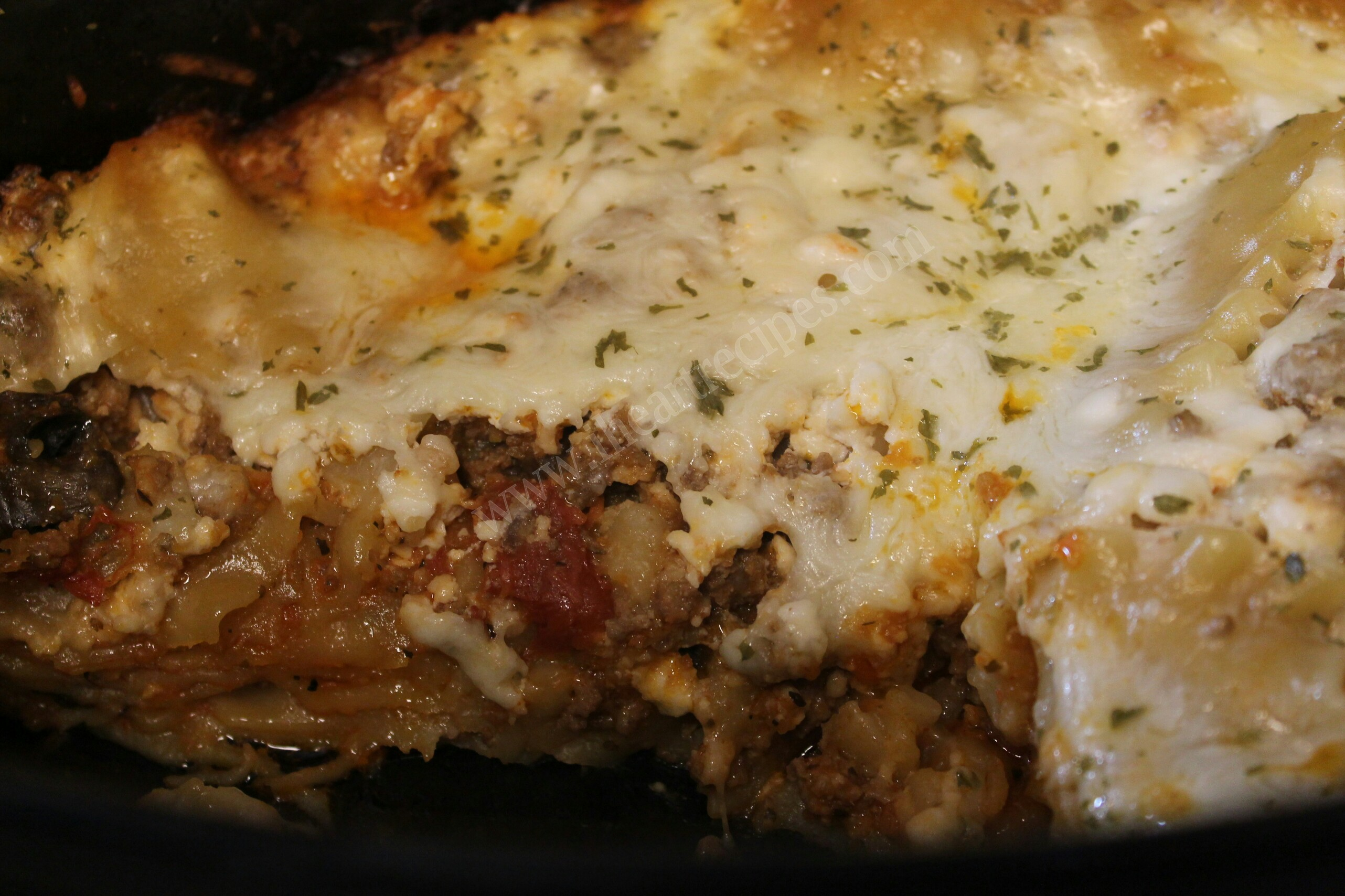 This slow cooker beef lasagna is an easy weeknight recipe without the effort!