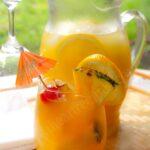 Fresh Homemade Mango Pineapple Lemonade