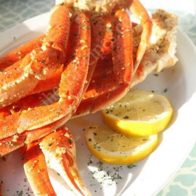 Easy Crab Legs Recipe