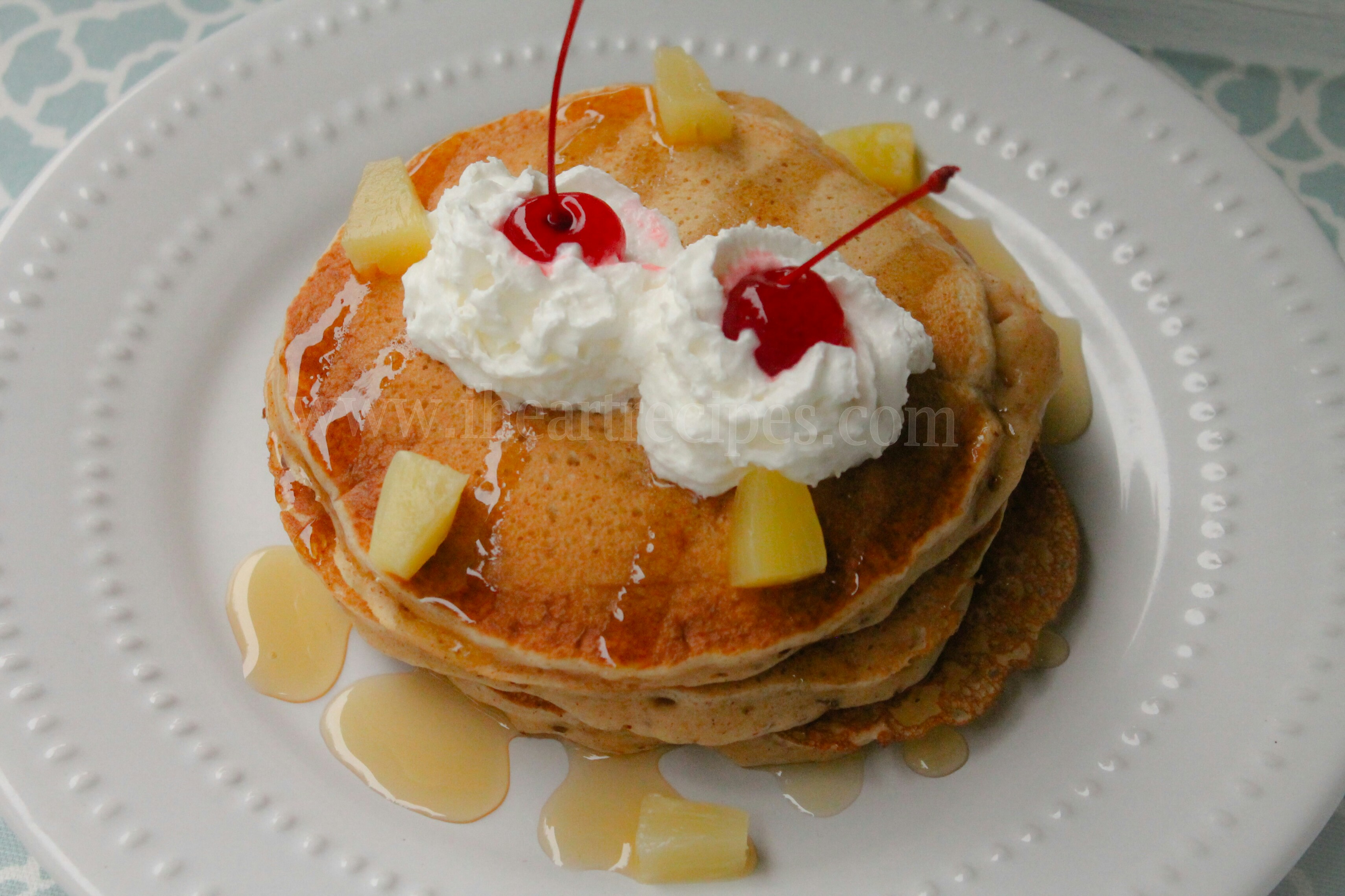 Pineapple Upside Down Pancakes | I Heart Recipes