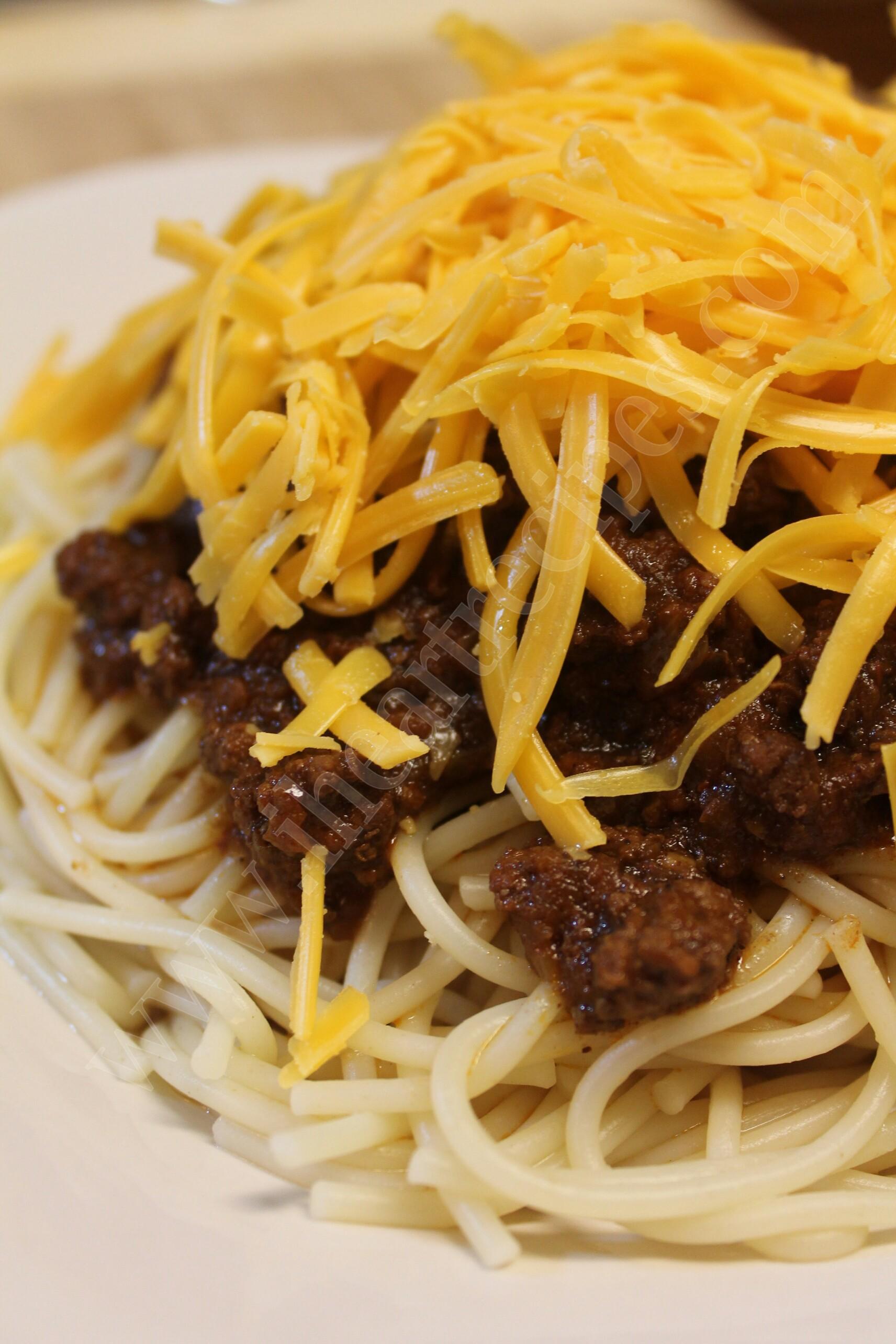 Cincinnati Style Chili Recipe I Heart Recipes