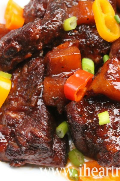sweet and smokey ribs