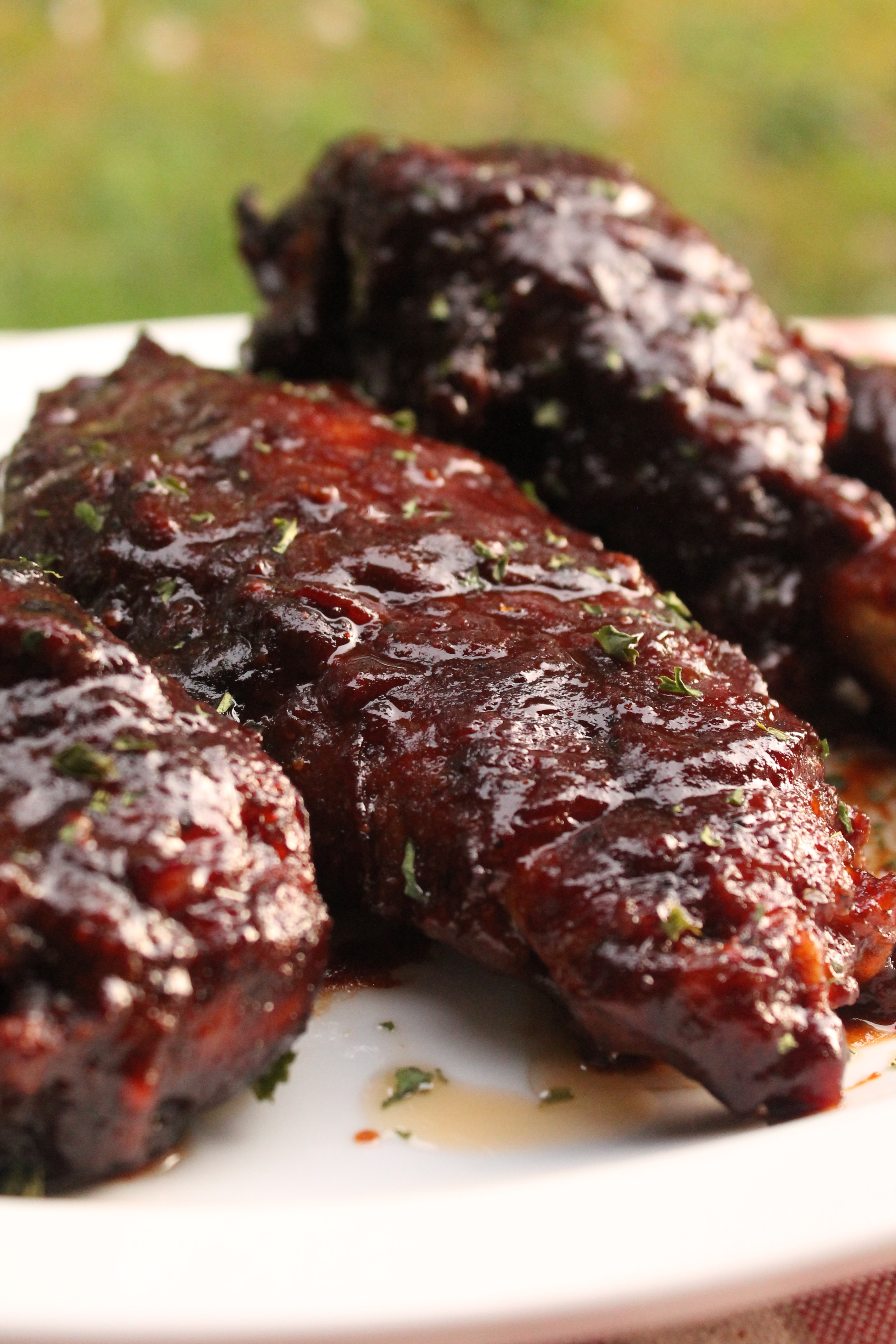 Cook these BBQ turkey wings slow and low for fall-off-the-bone tenderness!