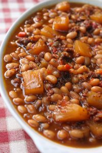 Brown Sugar and Pineapple Baked Beans