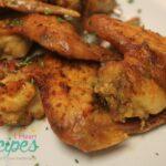 Stuffed Baked Chicken Wings