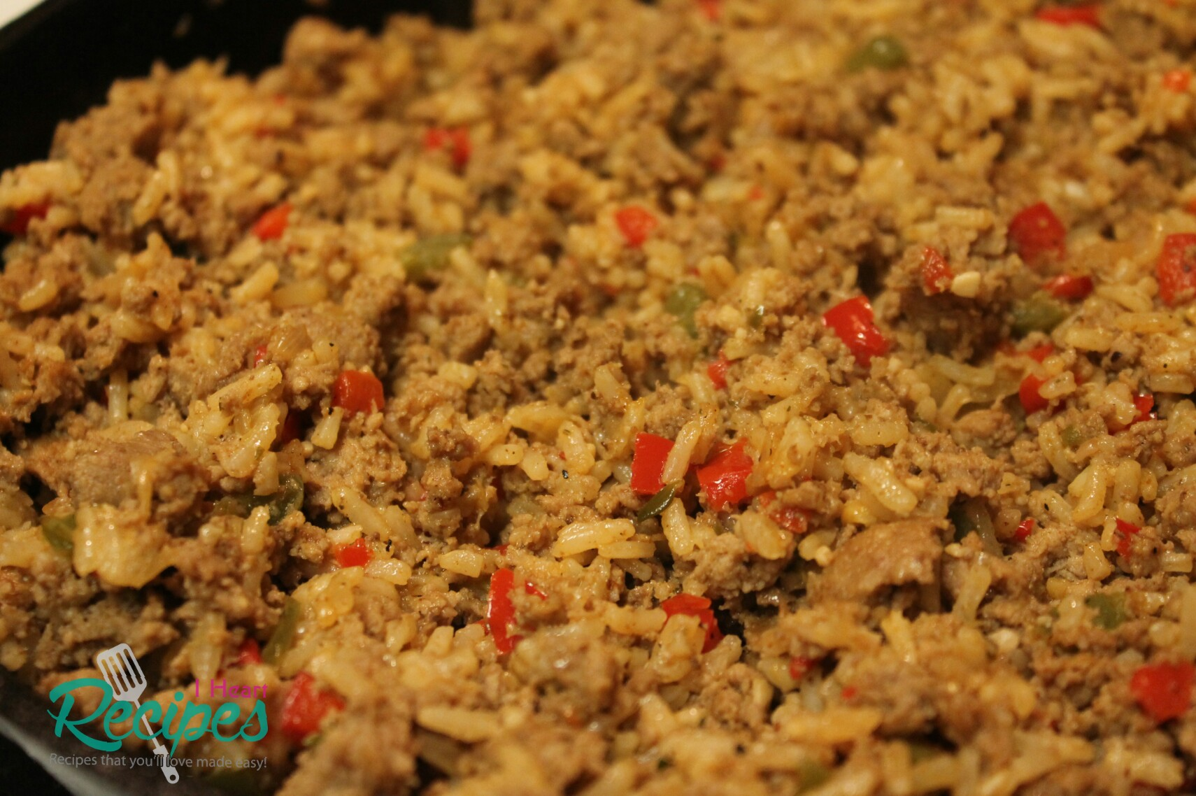 Dirty Rice Made With Ground Turkey I Heart Recipes