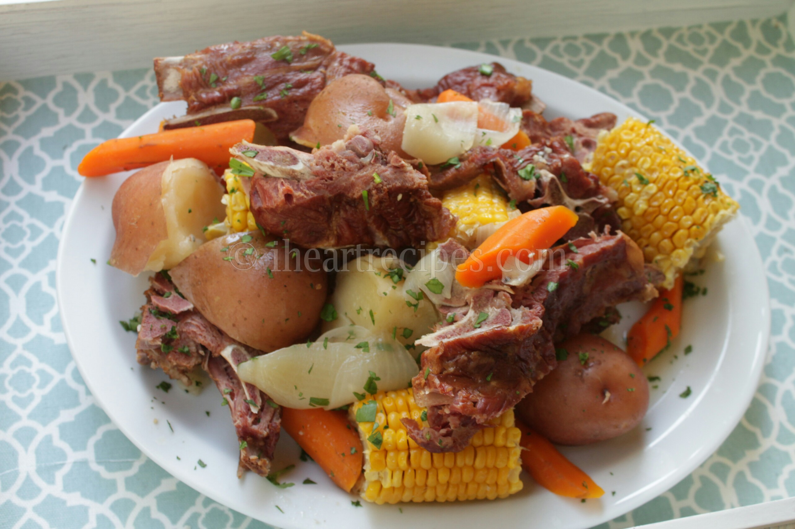 This hearty and delicious pork neck boil is a huge favorite