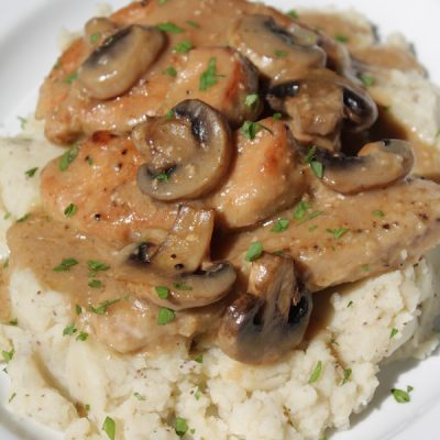 Smothered Turkey Chops