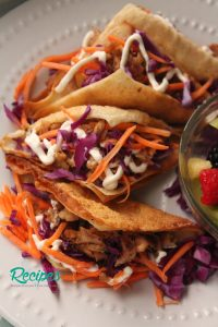 Better than Applebees Chicken Wonton Tacos