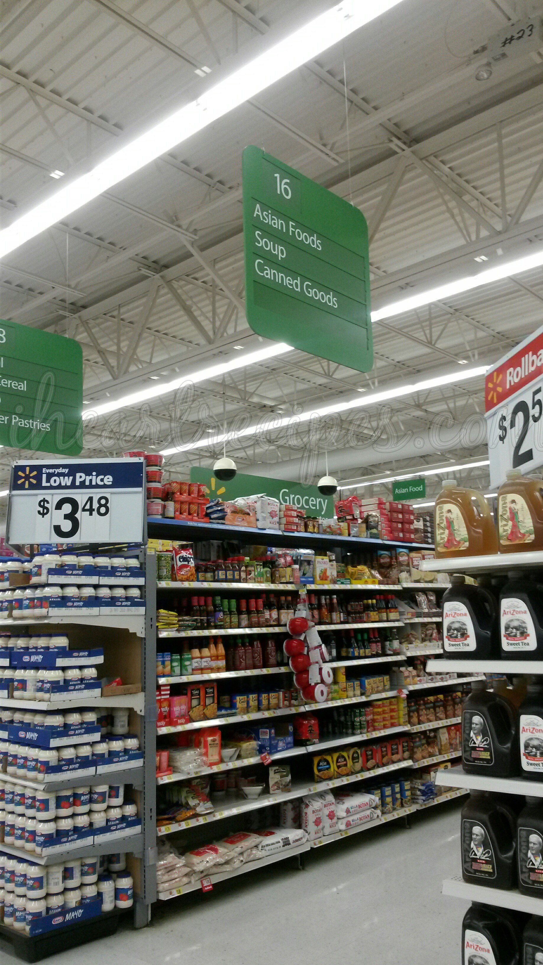 Find the chicken soup in this aisle