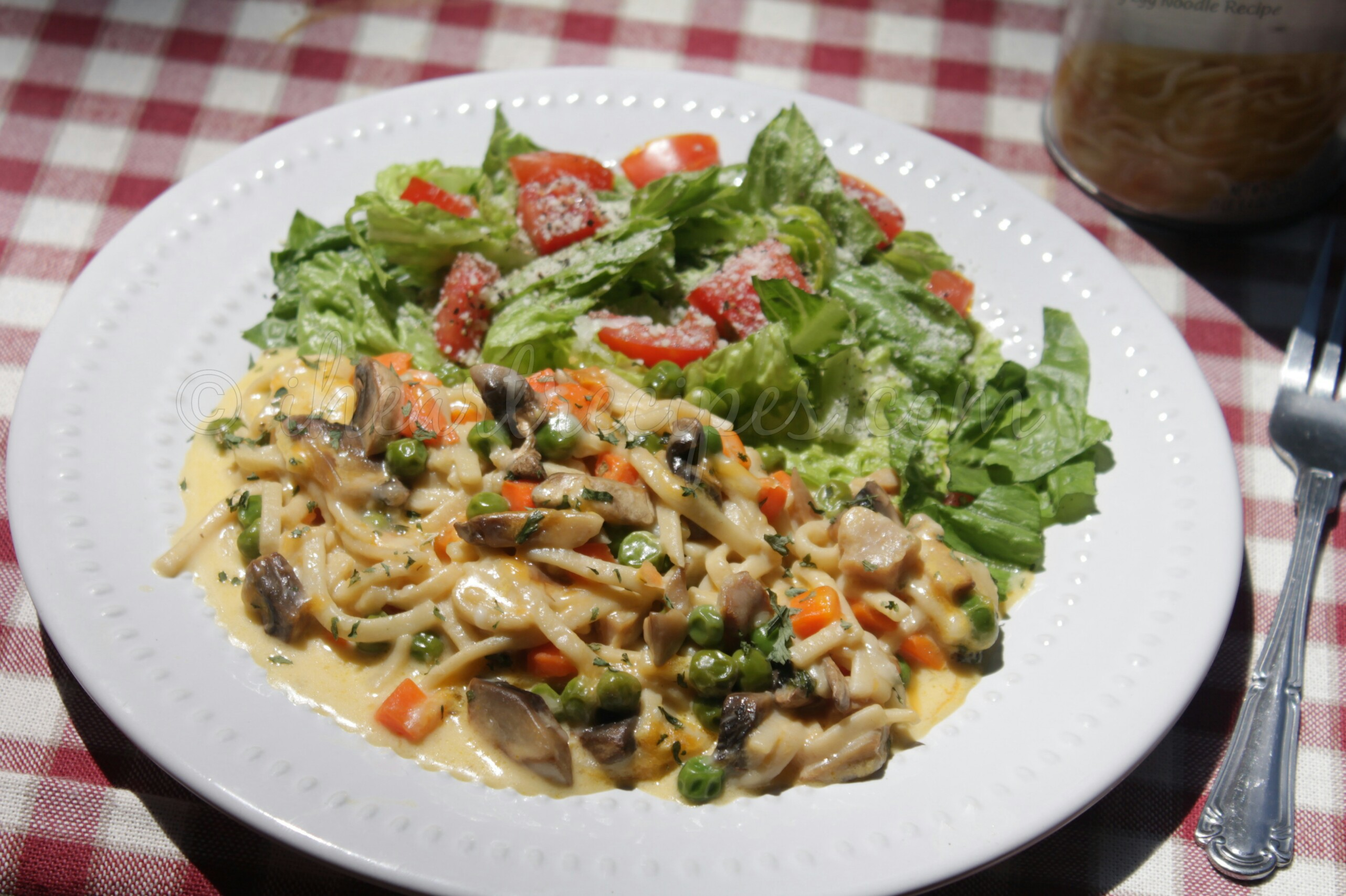 Chicken Tetrazzini | I Heart Recipes