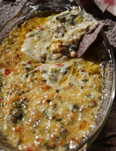 Bacon, Rainbow Chard, and Artichoke Dip