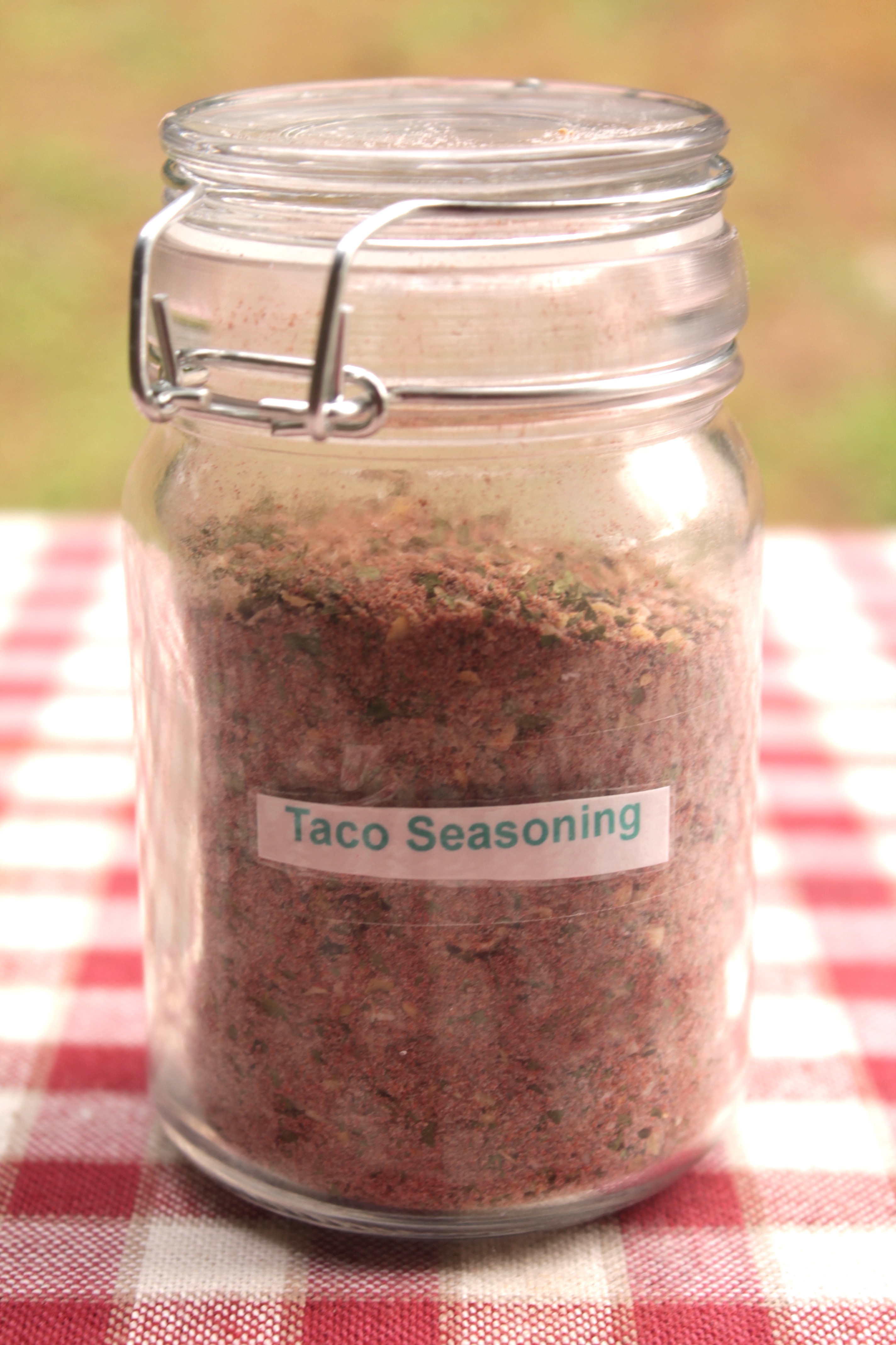 Homemade taco seasoning is a great spice to have on-hand for your cooking needs