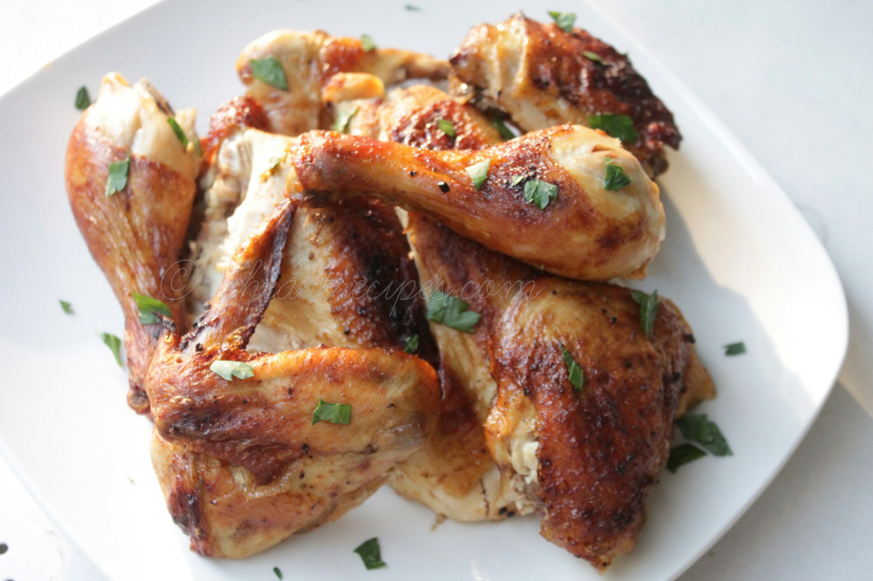 Simple Roast Chicken is versatile and always yummy!