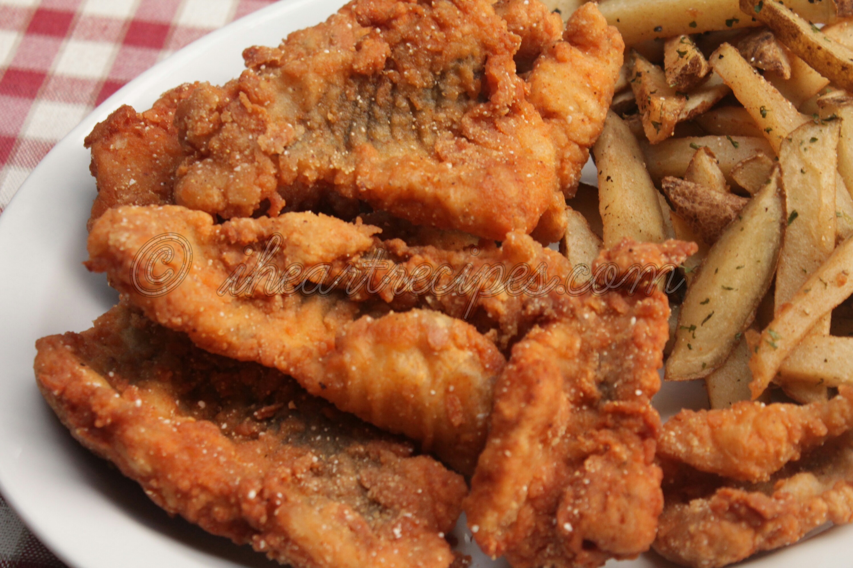 If you don't like spicy food, this fried catfish can be easily modified.