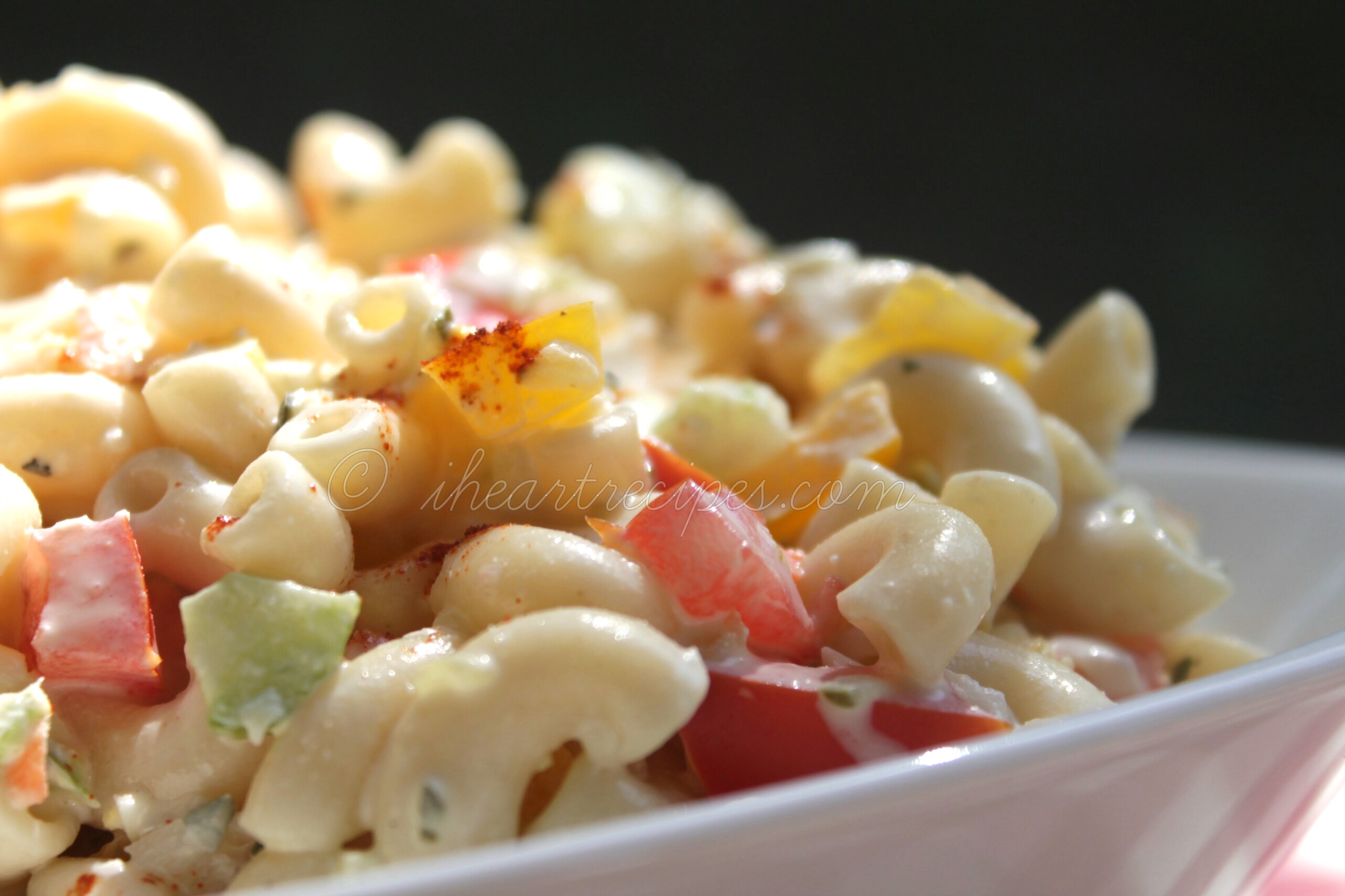 Southern Macaroni Salad | I Heart Recipes