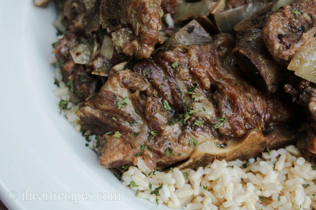 Soul Food Style Pork Neck Bones!
