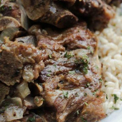 Soul Food Style Pork Neck Bones