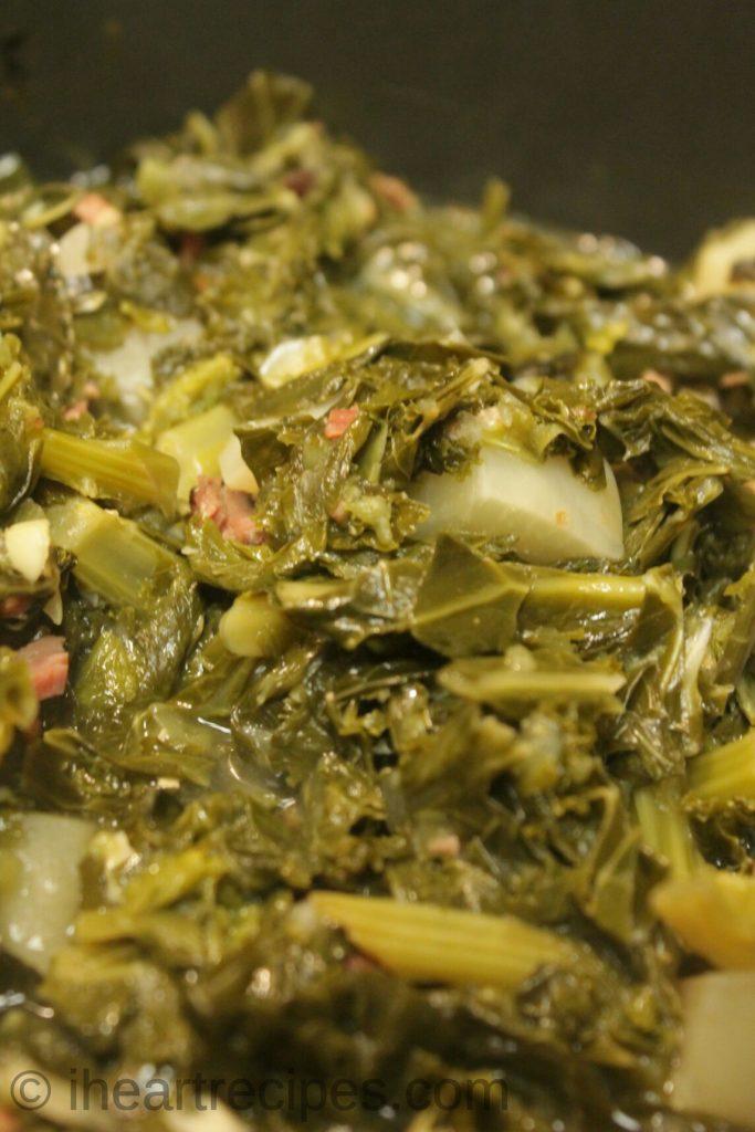Southern Mixed Greens Amp Turnips I Heart Recipes