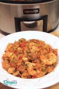 Crock-Pot Quinoa Jambalaya!