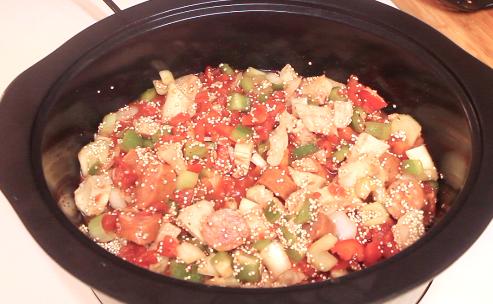 Crock-Pot Quinoa Jambalaya