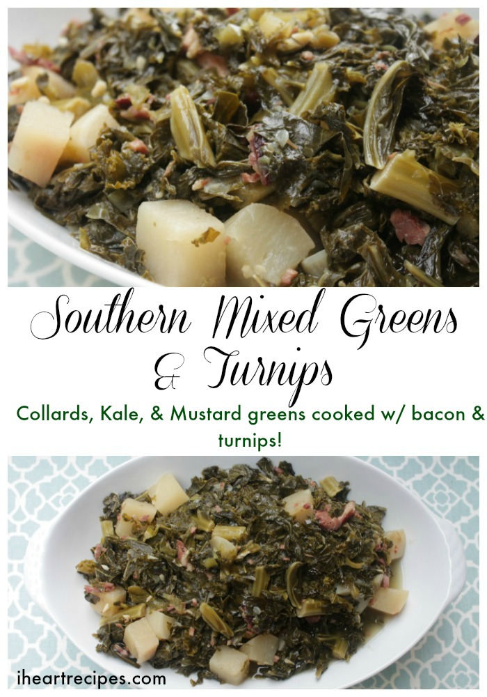 Southern Mixed Greens & Turnips