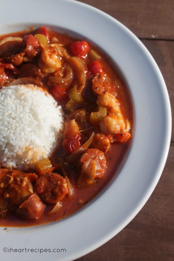 Shrimp & Sausage Creole | I Heart Recipes