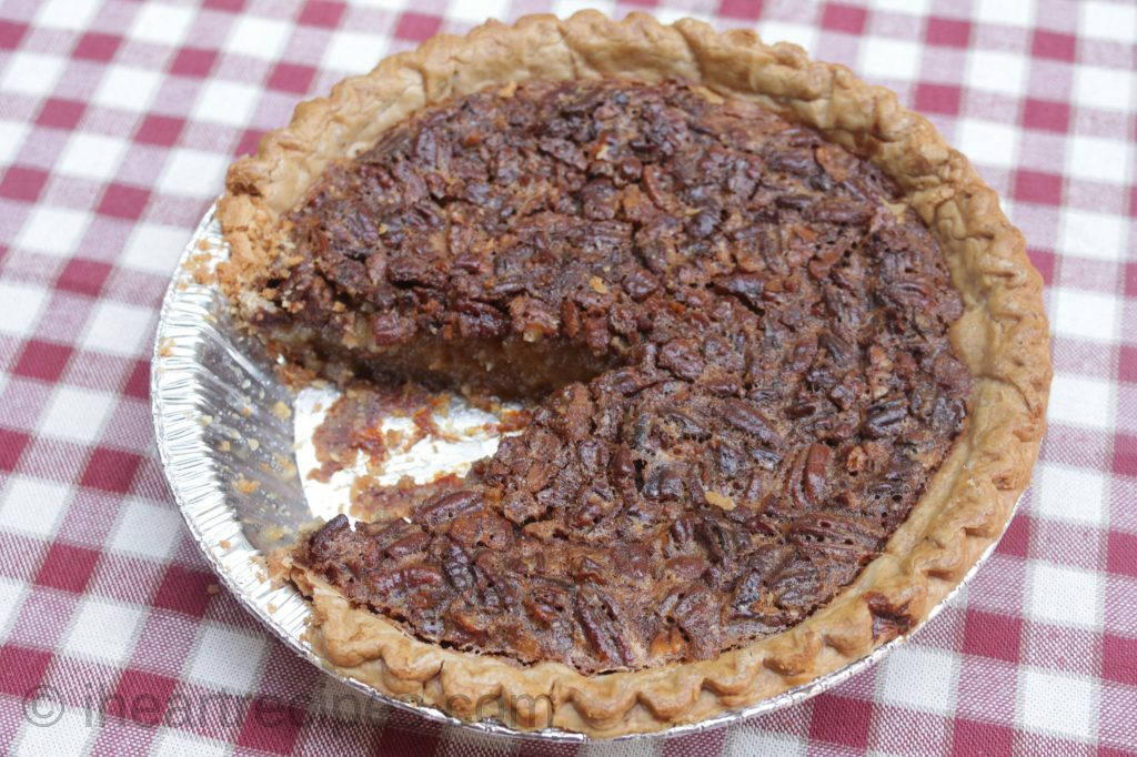 Using store-bought crust for this Southern Pecan Pie makes this recipe easier.
