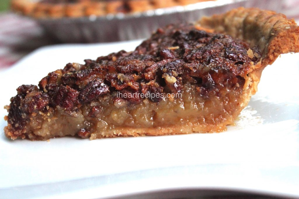 homemade pecan pie | I Heart Recipes
