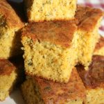 Cheesy Garlic & Herb Cornbread