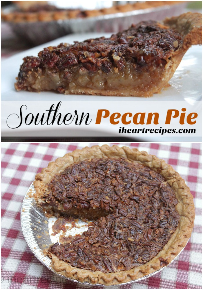 This Southern Pecan Pie is a sweet treat!