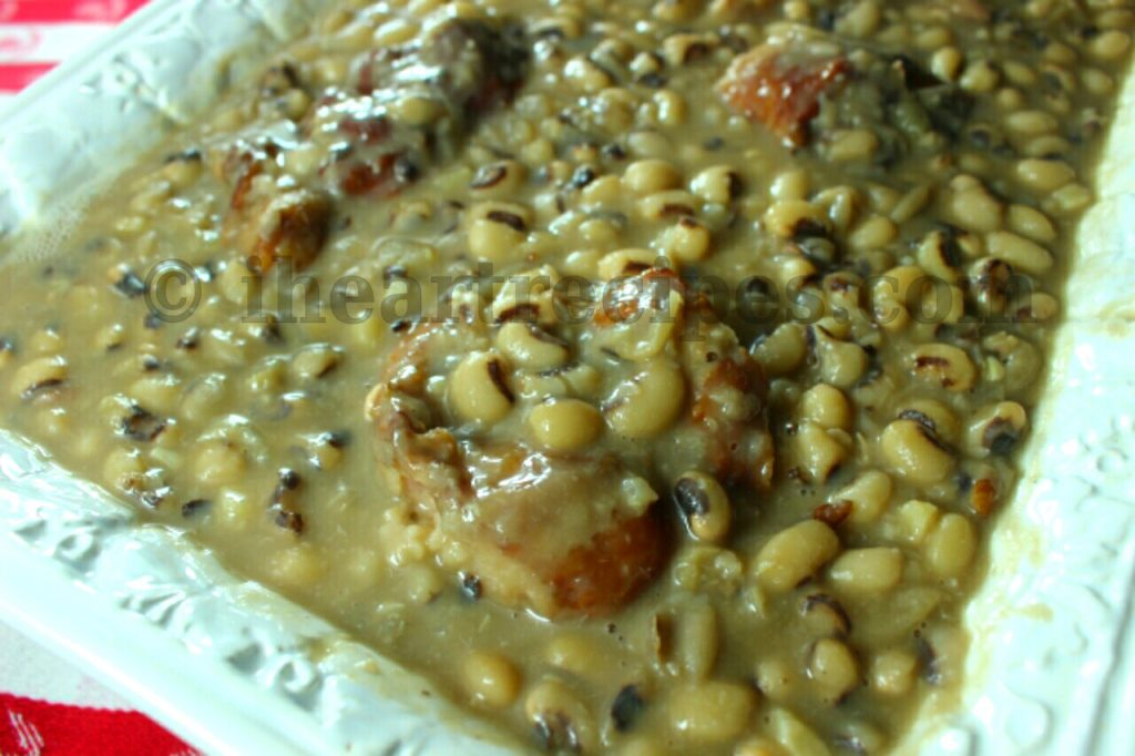 Southern Black Eyed Peas I Heart Recipes